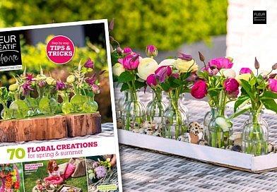 fleur creatif at home special sprigtime floral creations for spring and summer Annick Mertens Charlotte Bartholomé Joris De Kegel Martine Meeuwssen Arnauld Delheille Chantal Post