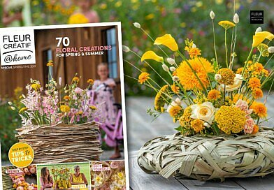 The new Fleur Creatif@Home Special Springtime 2021 is out now! Order your magazine here. With 70 floral creations for spring and summer.