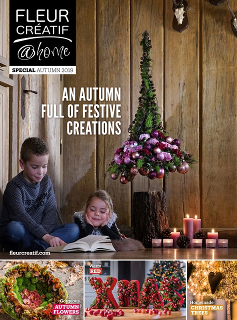 fleur creatif @ home_special autumn winter 2019_CHRISTMAS TREES_autumn flowers_fleurcreatif.com
