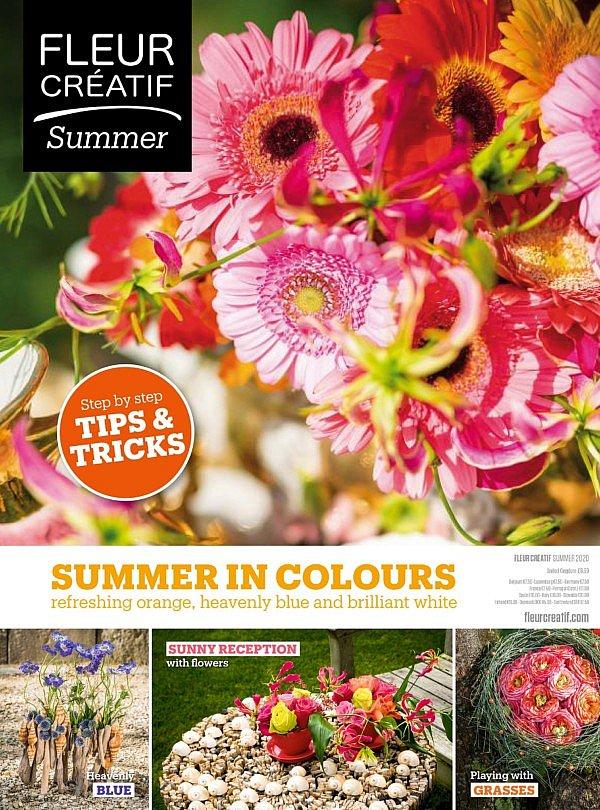 fleur creatif flower art floral craftsmanship floral design floral magazine Belgium Europe